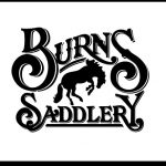 burns saddlery logo